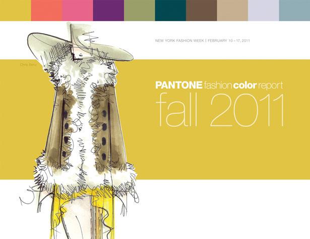 pantone - Pantone divulga cores do Inverno 2012