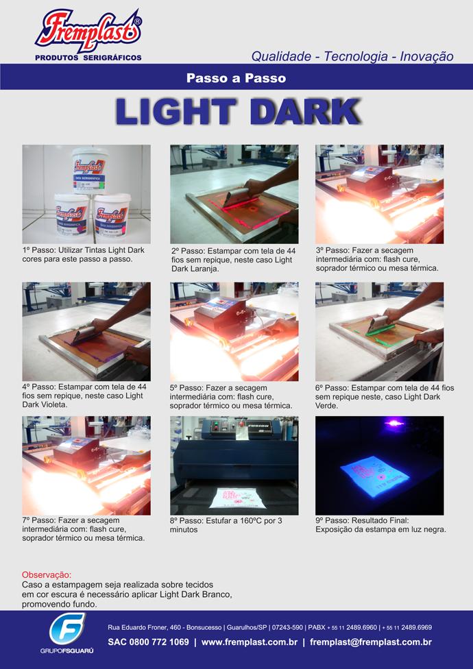 light dark fremplast - Passo a passo: Light Dark
