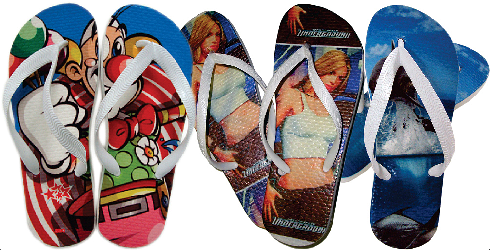 chineo - Tendência: chinelos estampados