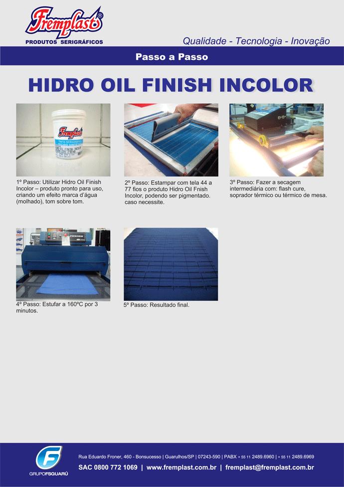 hidrooilfinish - Hidro Oil Finish Incolor