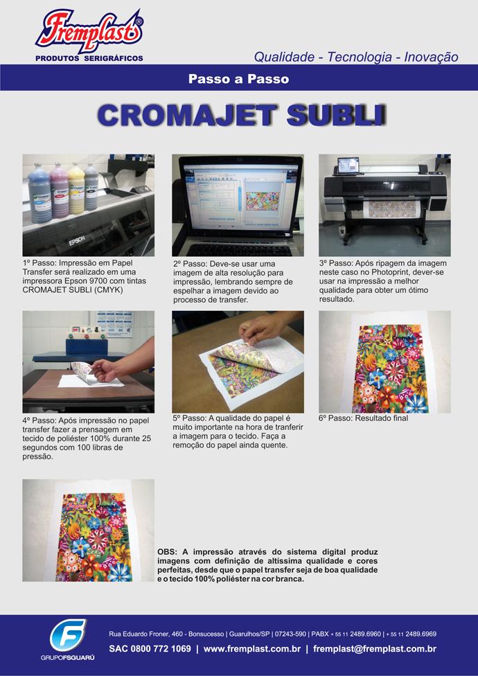 subli - Cromajet sublimática