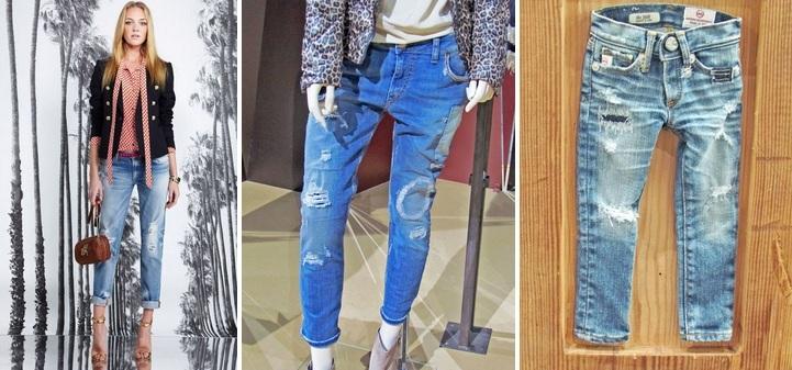 destroyed - Jeans com efeito detonado é hit para o inverno 2014