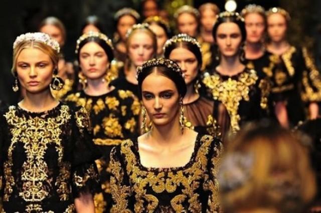 barroco moda 20131 e1360344665722 - Inverno 2013: tendência barroca