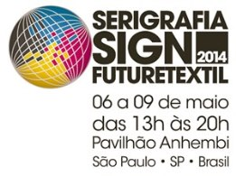 Serigrafia Sing Future 2014 - Serigrafia SIGN Future TEXTIL 2014