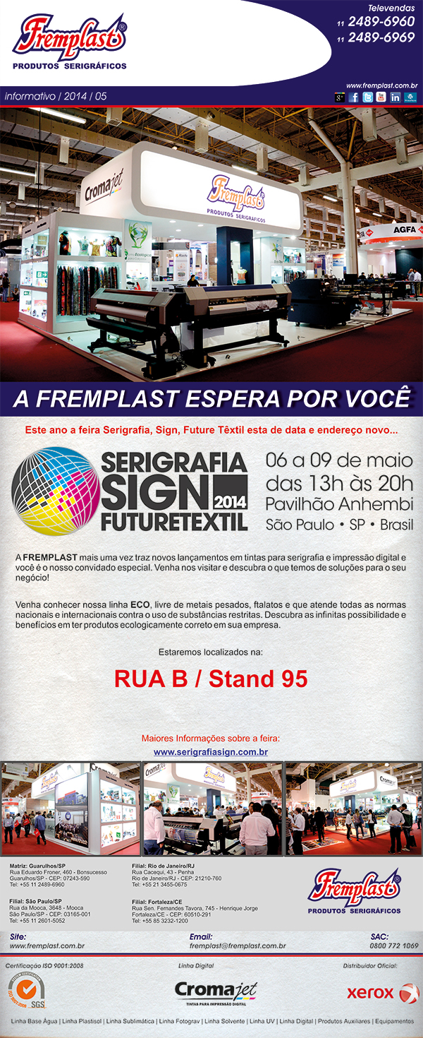 seri - Serigrafia Sign Future Textil 2014