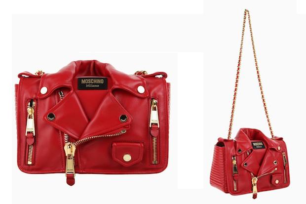 591 14 02 20140512 100726 - Moschino apresenta bolsas em formato de jaquetas