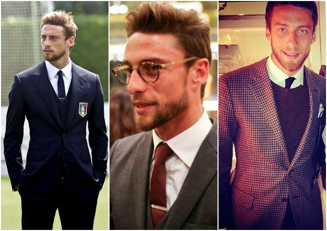 jogadores mais estilosos copa 2014 Claudio Marchisio - Os jogadores mais estilosos da copa
