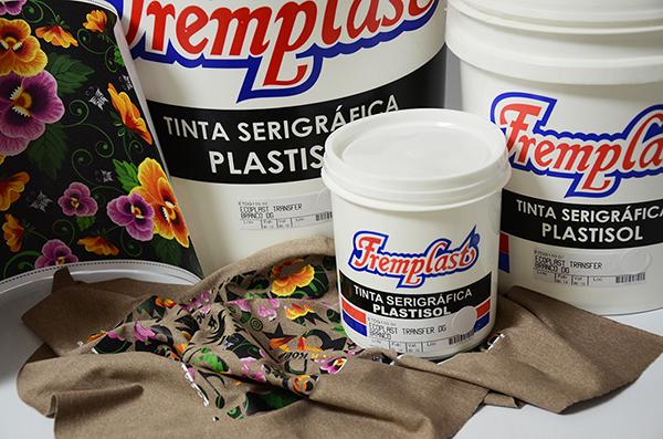 tinta serigrafica plastisol fremplast - Ecoplast Transfer Branco DG